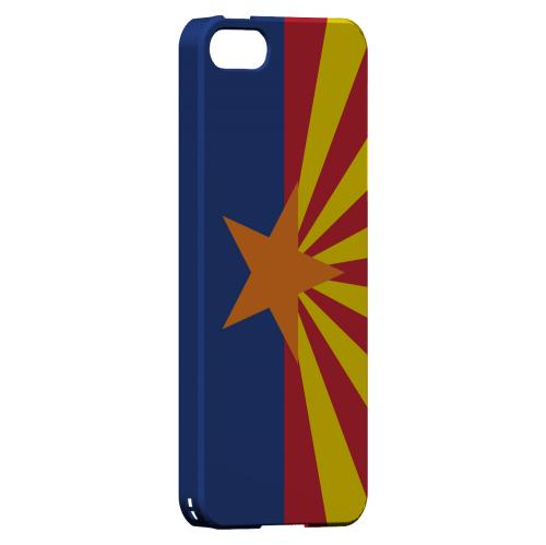 Arizona - Geeks Designer Line Flag Series Hard Back Case for Apple iPhone 5/5S