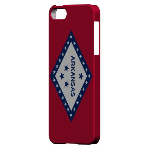 Arkansas - Geeks Designer Line Flag Series Hard Back Case for Apple iPhone 5/5S