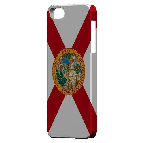 Florida - Geeks Designer Line Flag Series Hard Back Case for Apple iPhone 5/5S
