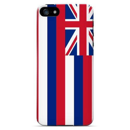 Hawaii - Geeks Designer Line Flag Series Hard Back Case for Apple iPhone 5/5S