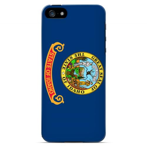 Idaho - Geeks Designer Line Flag Series Hard Back Case for Apple iPhone 5/5S