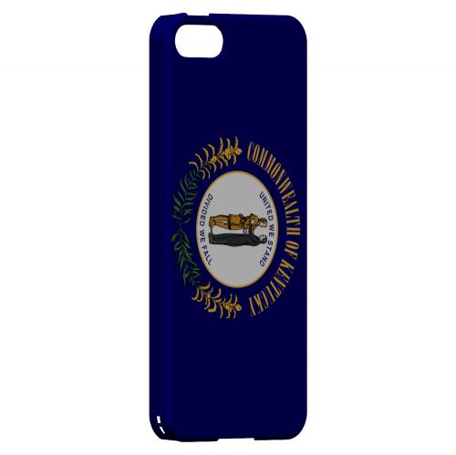 Kentucky - Geeks Designer Line Flag Series Hard Back Case for Apple iPhone 5/5S