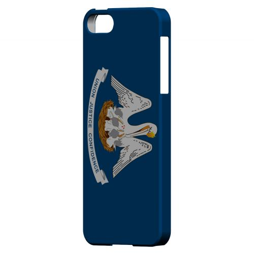 Louisiana - Geeks Designer Line Flag Series Hard Back Case for Apple iPhone 5/5S