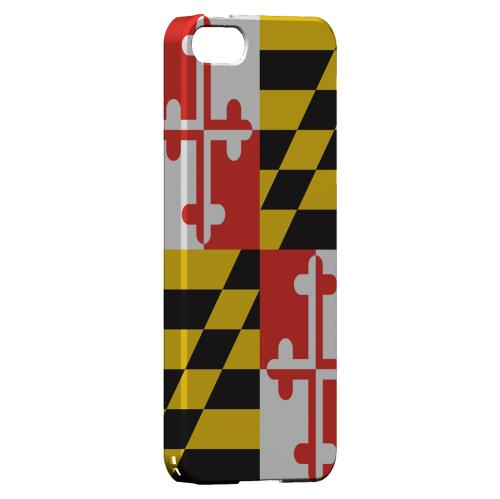 Maryland - Geeks Designer Line Flag Series Hard Back Case for Apple iPhone 5/5S