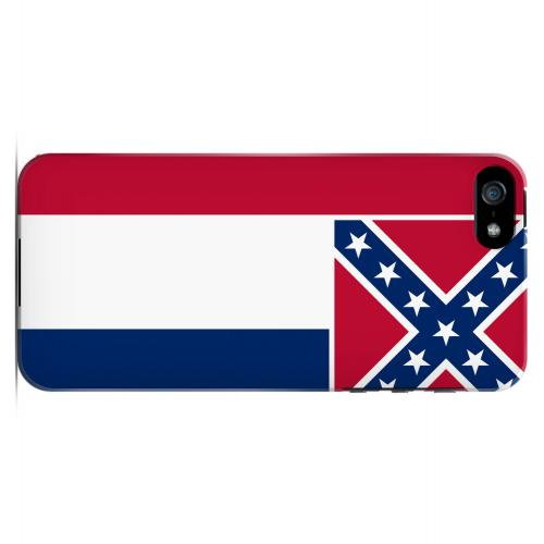 Mississippi - Geeks Designer Line Flag Series Hard Back Case for Apple iPhone 5/5S