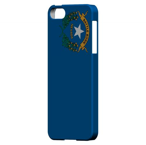 Nevada - Geeks Designer Line Flag Series Hard Back Case for Apple iPhone 5/5S