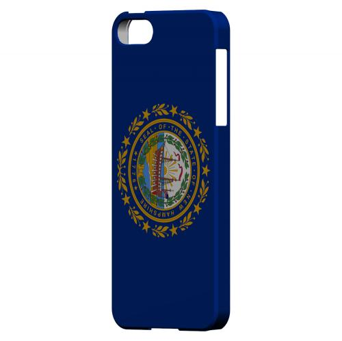 New Hampshire - Geeks Designer Line Flag Series Hard Back Case for Apple iPhone 5/5S
