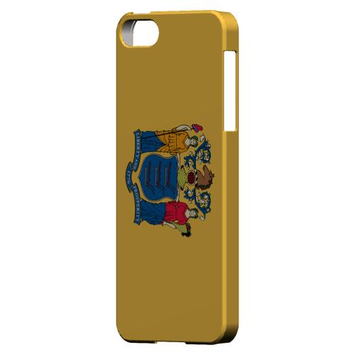 New Jersey - Geeks Designer Line Flag Series Hard Back Case for Apple iPhone 5/5S