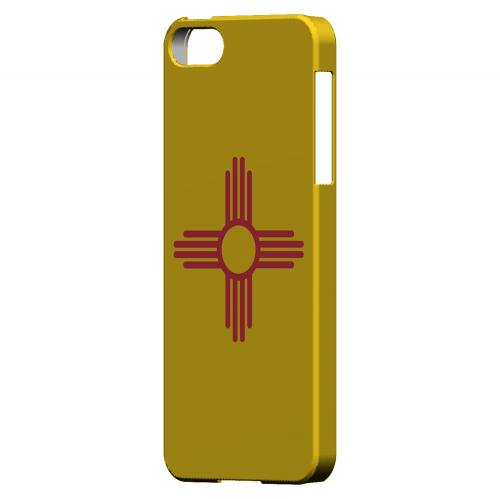 New Mexico - Geeks Designer Line Flag Series Hard Back Case for Apple iPhone 5/5S