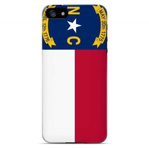 North Carolina - Geeks Designer Line Flag Series Hard Back Case for Apple iPhone 5/5S