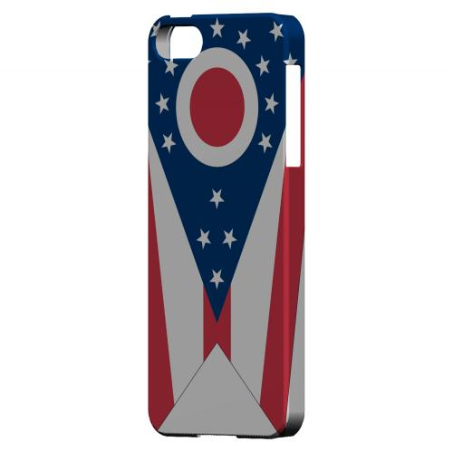 Ohio - Geeks Designer Line Flag Series Hard Back Case for Apple iPhone 5/5S