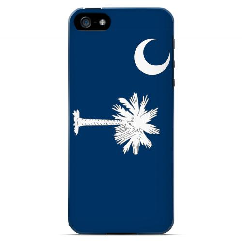 South Carolina - Geeks Designer Line Flag Series Hard Back Case for Apple iPhone 5/5S