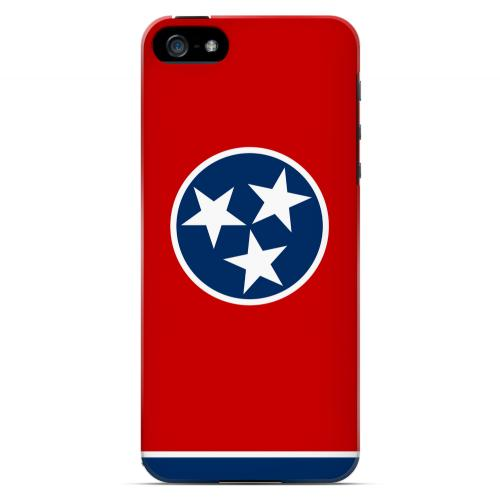 Tennessee - Geeks Designer Line Flag Series Hard Back Case for Apple iPhone 5/5S