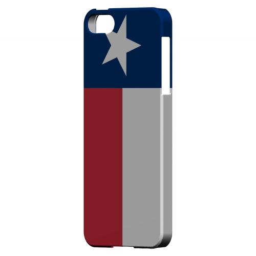 Texas - Geeks Designer Line Flag Series Hard Back Case for Apple iPhone 5/5S
