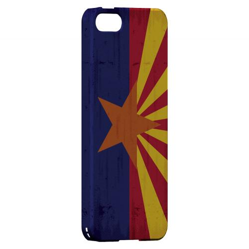 Grunge Arizona - Geeks Designer Line Flag Series Hard Case for Apple iPhone 5/5S
