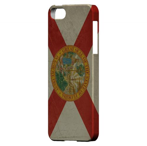 Grunge Florida - Geeks Designer Line Flag Series Hard Case for Apple iPhone 5/5S