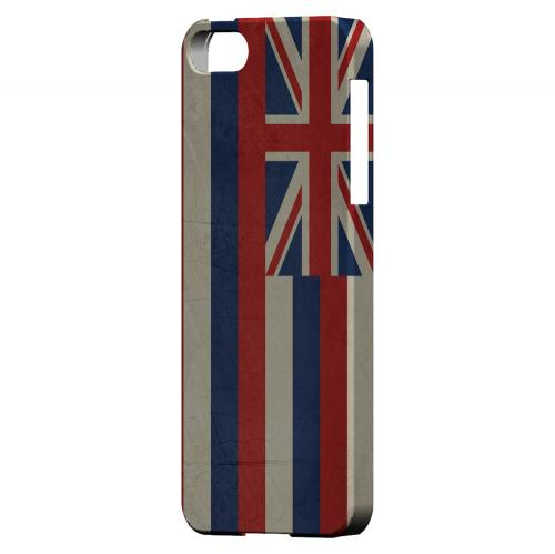 Grunge Hawaii - Geeks Designer Line Flag Series Hard Case for Apple iPhone 5/5S