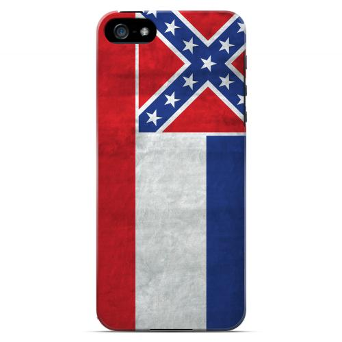 Grunge Mississippi - Geeks Designer Line Flag Series Hard Case for Apple iPhone 5/5S