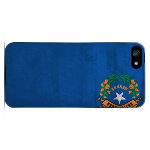 Grunge Nevada - Geeks Designer Line Flag Series Hard Case for Apple iPhone 5/5S