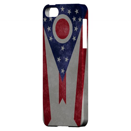 Grunge Ohio - Geeks Designer Line Flag Series Hard Case for Apple iPhone 5/5S