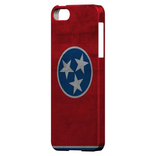 Grunge Tennessee - Geeks Designer Line Flag Series Hard Case for Apple iPhone 5/5S