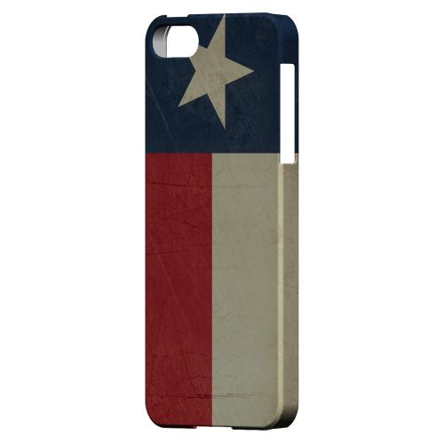 Grunge Texas - Geeks Designer Line Flag Series Hard Case for Apple iPhone 5/5S