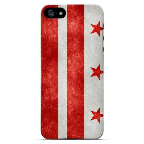 Grunge Washington  D.C. - Geeks Designer Line Flag Series Hard Case for Apple iPhone 5/5S