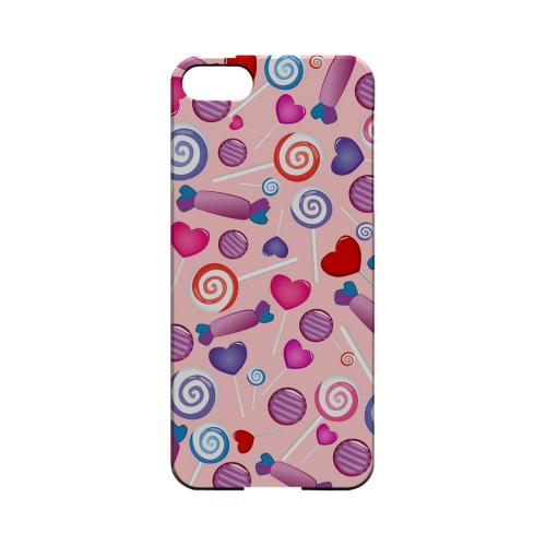 Assorted Candy Geeks Designer Line Candy Series Slim Hard Back Cover for Apple iPhone 5/5S
