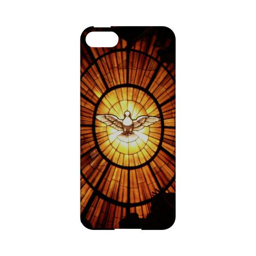 Holy Spirit Glass - Geeks Designer Line (GDL) Bible Verse Series Hard Back Cover for Apple iPhone 5/5S