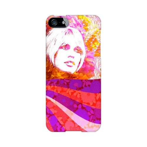 Glossy Flowerchild GDL Ultra Slim Hard Case for Apple iPhone 5/5S Geeks Designer Line
