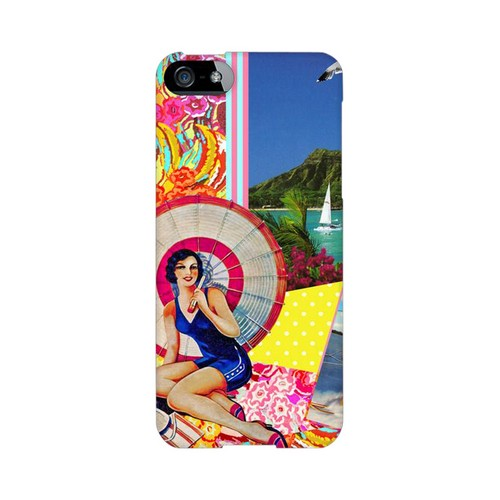 Paradise Americana Nostalgia Series GDL Ultra Slim Hard Case for Apple iPhone 5/5S Geeks Designer Line