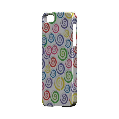 Assorted Lollipops Geeks Designer Line Candy Series Slim Hard Back Cover for Apple iPhone 5/5S