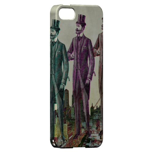 New York Like A Sir Americana Nostalgia Series GDL Ultra Slim Hard Case for Apple iPhone 5/5S Geeks Designer Line