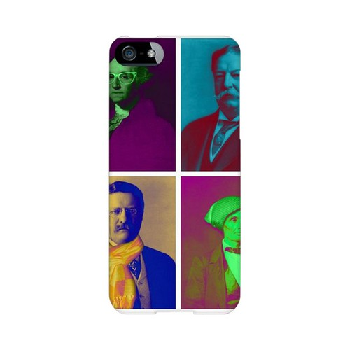 Glossy Hip Before It Was Cool Americana Nostalgia Series GDL Ultra Slim Hard Case for iPhone 5/5S Geeks Designer Line