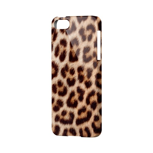 Leopard Close-Up Print Animal Series GDL Ultra Slim Hard Case for Apple iPhone 5/5S Geeks Designer Line