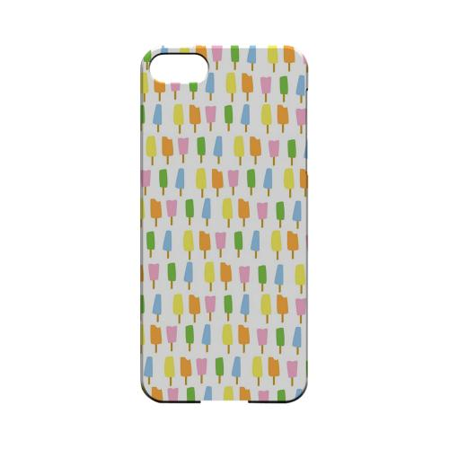 Assorted Popsicles Geeks Designer Line Candy Series Slim Hard Back Cover for Apple iPhone 5/5S