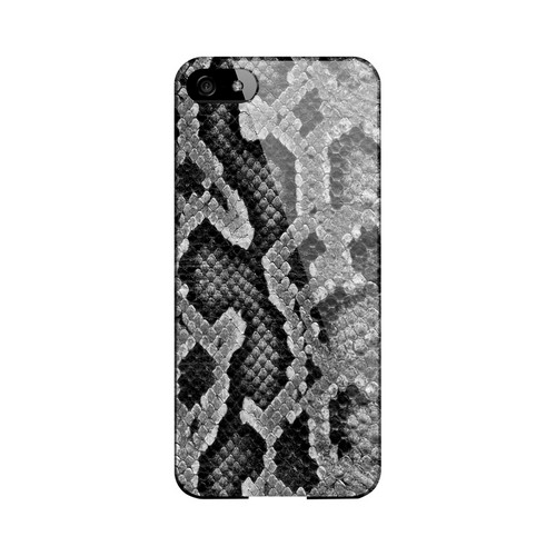 Gray Snake Skin Animal Series GDL Ultra Slim Hard Case for Apple iPhone 5/5S Geeks Designer Line