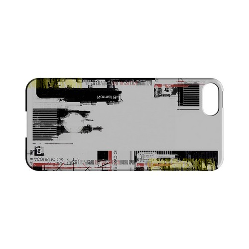 Industrial District - Geeks Designer Line (GDL) Retro Series Hard Back Cover for Apple iPhone 5/5S