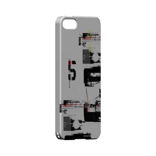 District 5 - Geeks Designer Line (GDL) Retro Series Hard Back Cover for Apple iPhone 5/5S
