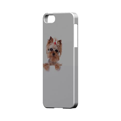 Yorkshire Terrier Impact Resistant Geeks Designer Line Slim Hard Case for Apple iPhone 5/5S