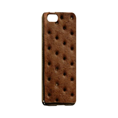 Ice Cream Sandwich Geeks Designer Line Candy Series Slim Hard Back Cover for Apple iPhone 5/5S