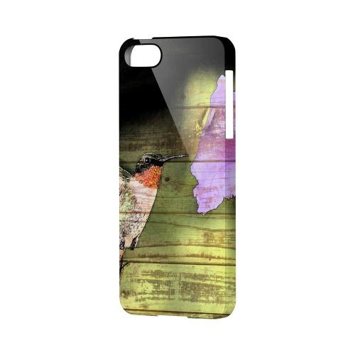 Hummingbird Impact Resistant Geeks Designer Line Asian Print Series Hard Case for Apple iPhone 5/5S