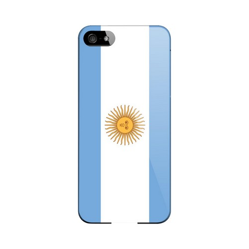 Argentina Geeks Designer Line Flag Series Slim Hard Case for Apple iPhone 5/5S
