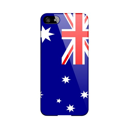 Australia Geeks Designer Line Flag Series Slim Hard Case for Apple iPhone 5/5S