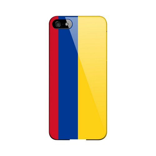 Colombia Geeks Designer Line Flag Series Slim Hard Case for Apple iPhone 5/5S