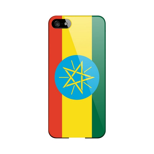 Ethiopia Geeks Designer Line Flag Series Slim Hard Case for Apple iPhone 5/5S
