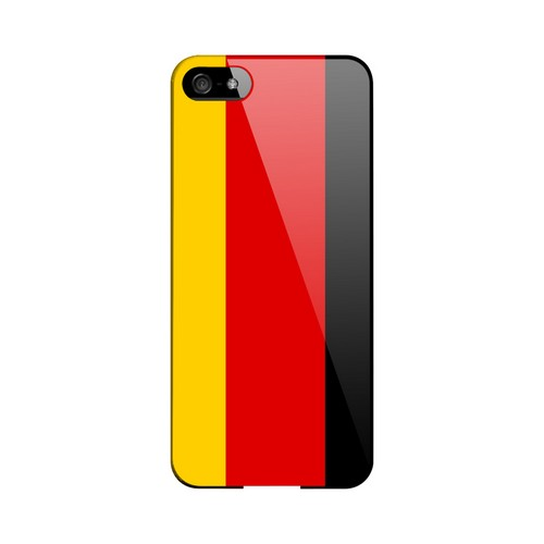 Germany Geeks Designer Line Flag Series Slim Hard Case for Apple iPhone 5/5S