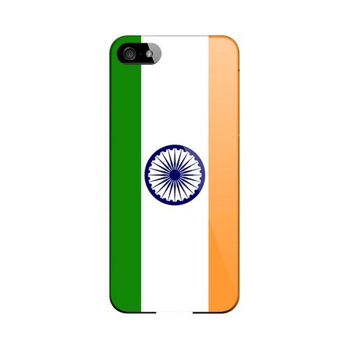 India Geeks Designer Line Flag Series Slim Hard Case for Apple iPhone 5/5S