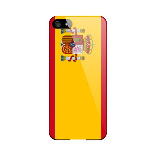 Spain Geeks Designer Line Flag Series Slim Hard Case for Apple iPhone 5/5S