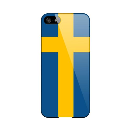 Sweden Geeks Designer Line Flag Series Slim Hard Case for Apple iPhone 5/5S